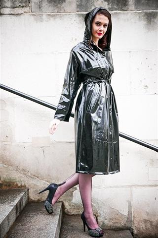 RA22 - Modern Girl Raincoat